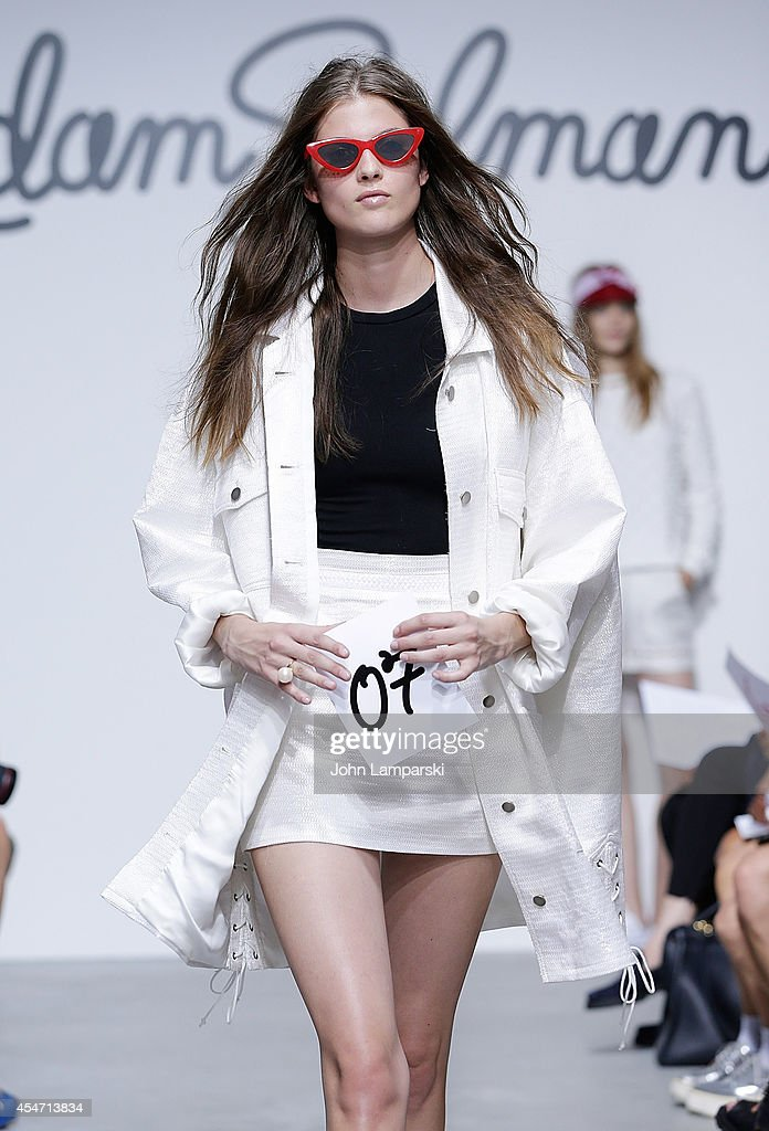 Adam Selman - Presentation - Mercedes-Benz Fashion Week Spring 2015 : News Photo