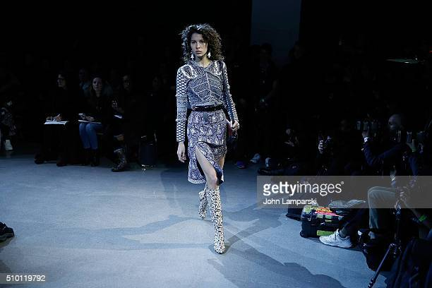 Models walk the runway during the Altuzarra show during the Fall 2016 New York Fashion Week on February 13 2016 in New York City