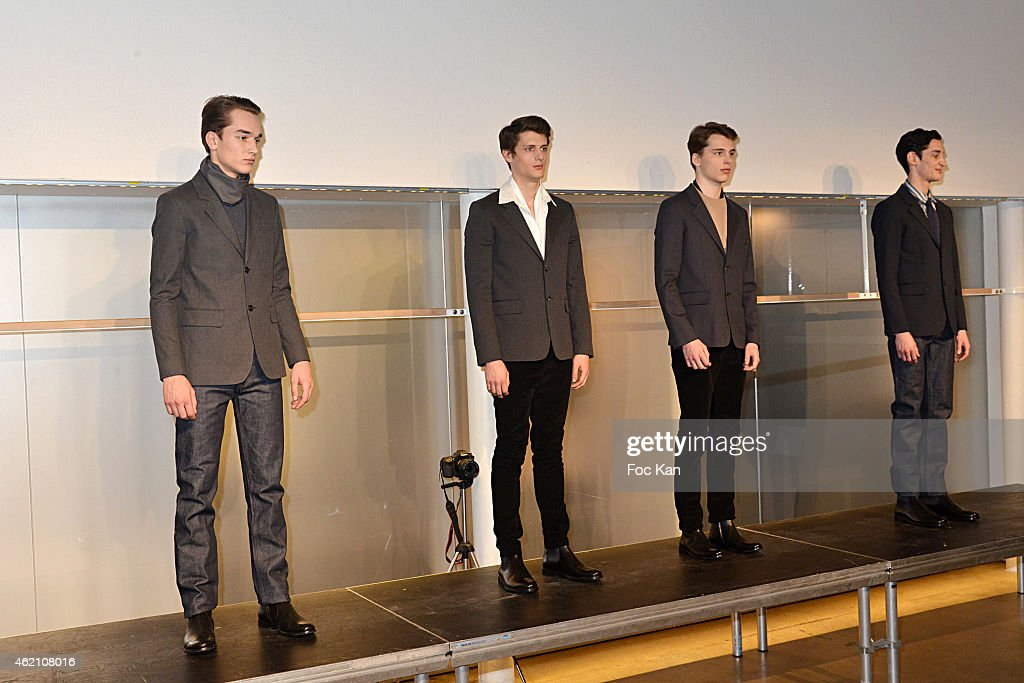A.P.C : Runway - Paris Fashion Week - Menswear F/W 2015-2016 : News Photo