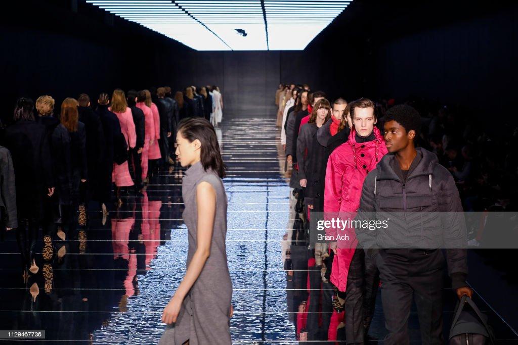 BOSS Womenswear & Menswear - Runway - February 2019 - New York Fashion Week : ニュース写真