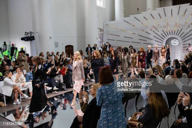 Models walk the runway during the CA collection room event on May 23 2019 in Essen Germany