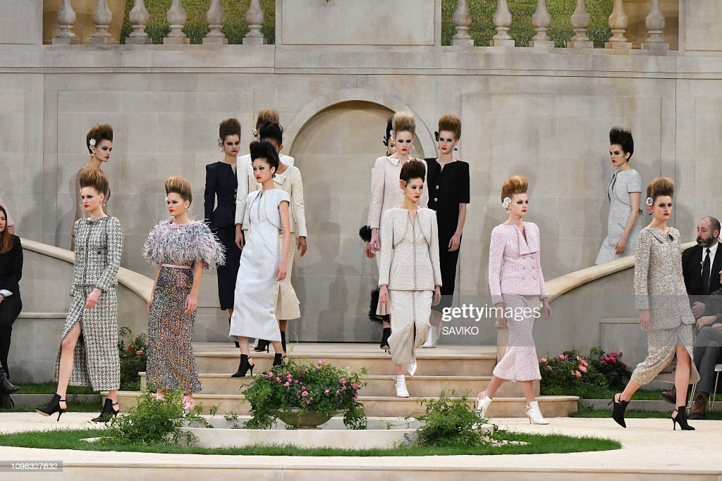 Chanel : Details - Paris Fashion Week - Haute Couture Spring Summer 2019 : News Photo