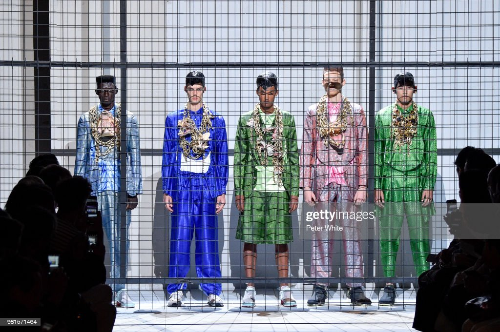 Comme des Garcons: Runway - Paris Fashion Week - Menswear Spring/Summer 2019