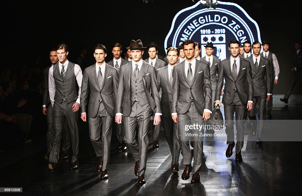 Ermenegildo Zegna: Milan Fashion Week Menswear A/W 2010 : News Photo