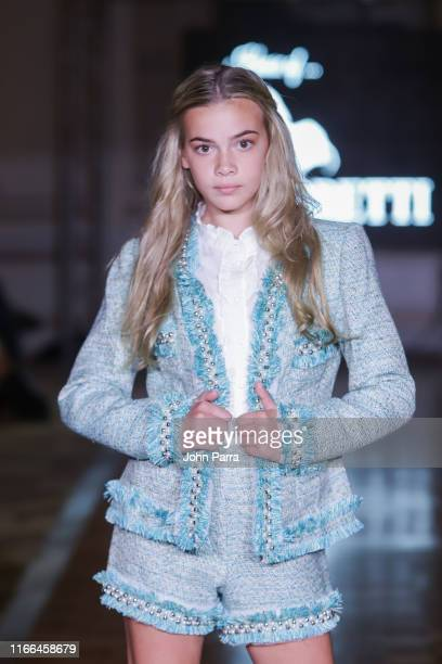 Models walk the runway during the House of Barrett show at the Cosmopolitan NYFW SS20 on September 6 2019 in New York City