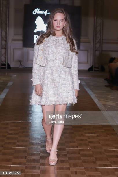 Models walk the runway during the House Of Barretti show at the Cosmopolitan NYFW SS20 on September 6 2019 in New York City
