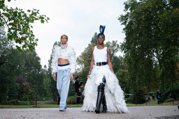 FRA: Koche : Runway - Paris Fashion Week - Womenswear Spring Summer 2021