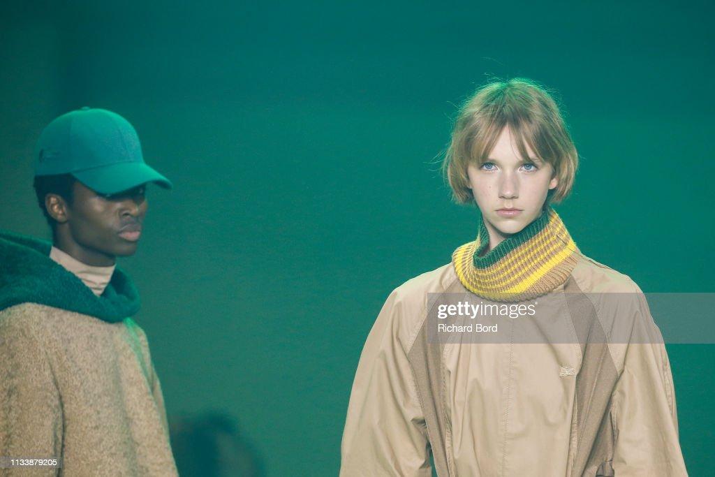 Lacoste : Runway - Paris Fashion Week Womenswear Fall/Winter 2019/2020 : ニュース写真