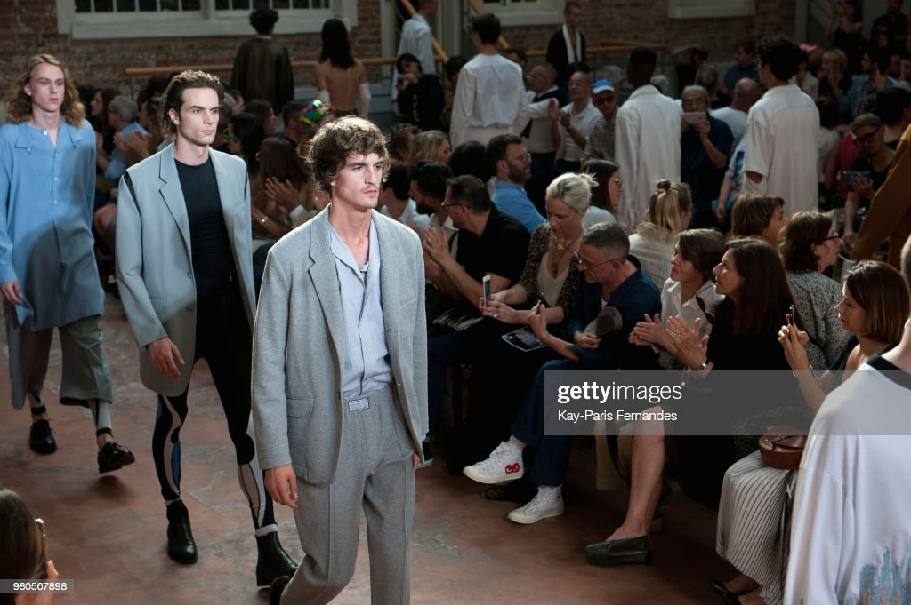 Louis Gabriel Nouchi  : Runway - Paris Fashion Week - Menswear Spring/Summer 2019