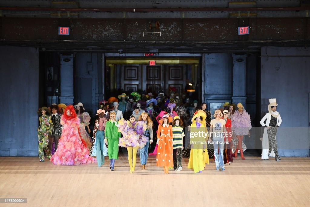 Marc Jacobs Spring 2020 Runway Show - Front Row : ニュース写真