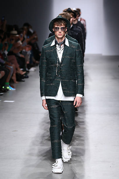 556349eaf5c Models walk the runway during the Miharayasuhiro show as part of the Paris  Fashion Week Menswear