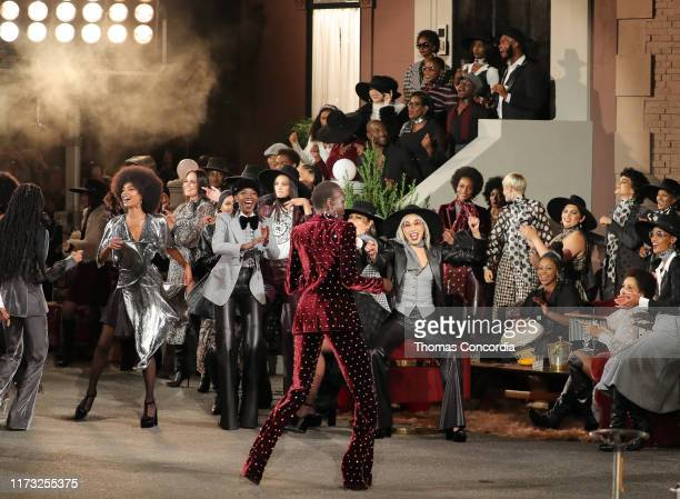 Models walk the runway during the TOMMYNOW New York Fall 2019 fashion show at The Apollo Theater on September 08 2019 in New York City