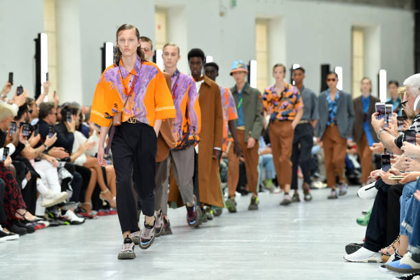 FRA: Valentino : Runway - Paris Fashion Week - Menswear Spring/Summer 2020