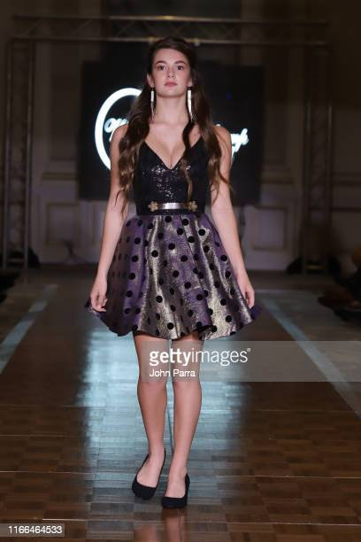Models walk the runway during the Wanda Beauchamp show at the Cosmopolitan NYFW SS20 on September 6 2019 in New York City