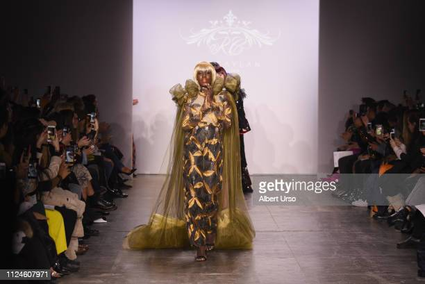 Models walk the runway for RC Caylan Atelier at the The CAAFD Emerging Designer Showcase Fashion Show during New York Fashion Week The Shows at...