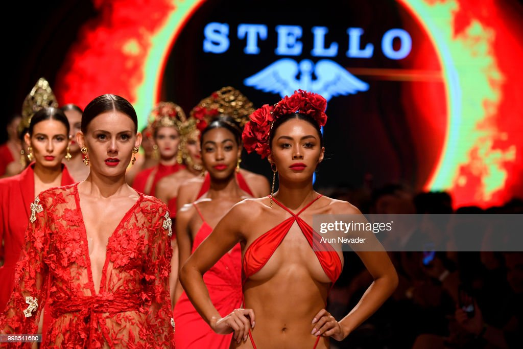 Stello At Miami Swim Week Powered By Art Hearts Fashion Swim/Resort 2018/19 : News Photo