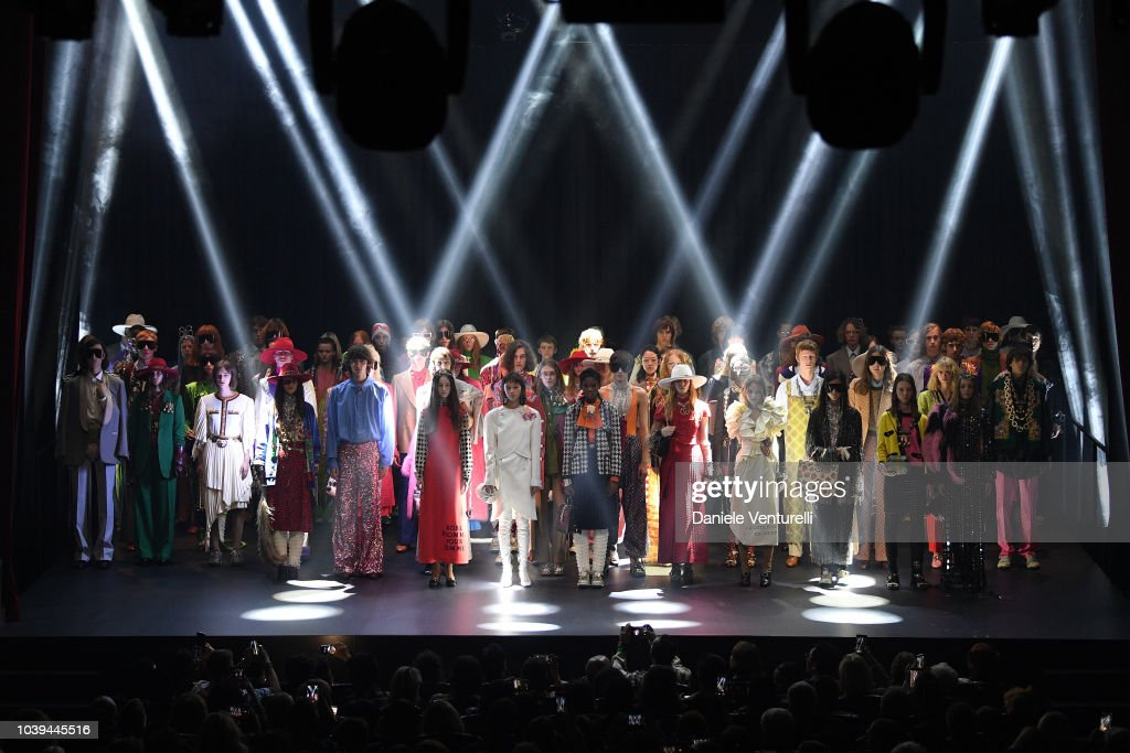 Gucci - Show and Finale - Paris Fashion Week Spring/Summer 2019 : Nachrichtenfoto
