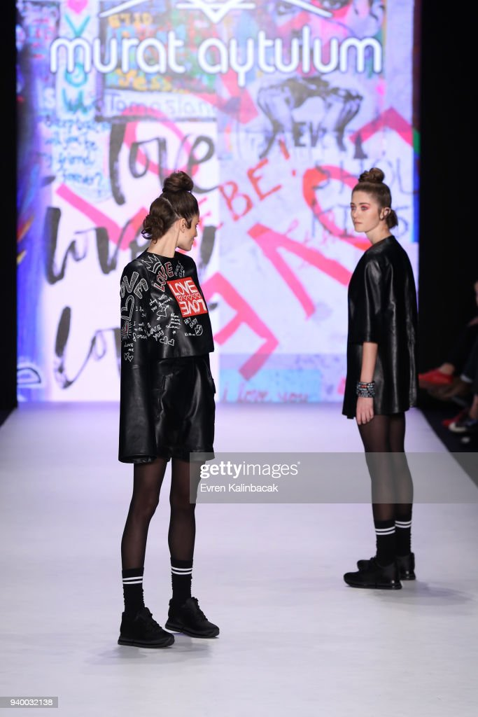Murat Aytulum - Runway - Mercedes Benz Fashion Week Istanbul - March 2018 : News Photo
