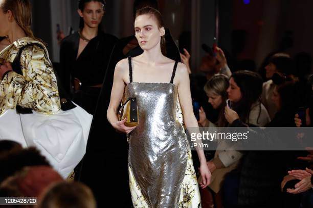 Models walk the runway for the Proenza Schouler fashion show during February 2020-New York Fashion Week: The Shows on February 10, 2020 in New York...