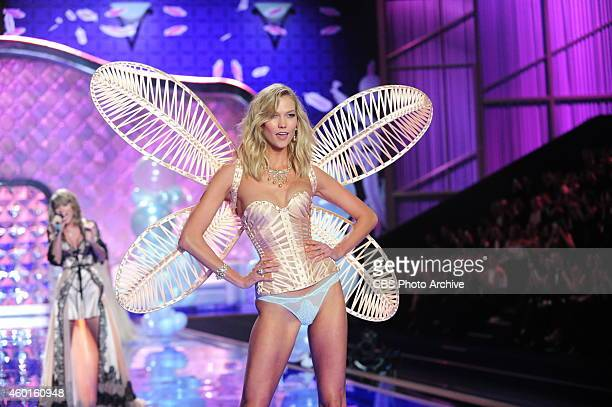 Models walk the runway for THE VICTORIA'S SECRET FASHION SHOW on Tuesday, Dec. 2, 2014. The show is scheduled to air Tuesday, Dec. 9, 10:00 PM ET/PT...