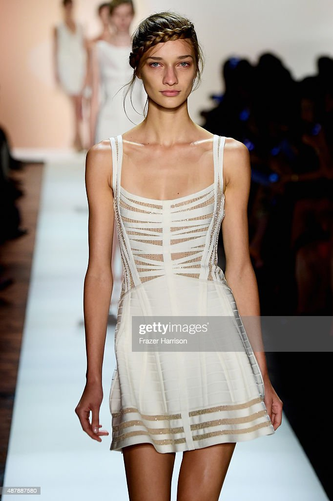 dbc9a4a034eb Herve Leger By Max Azria - Runway - Spring 2016 New York Fashion Week  The