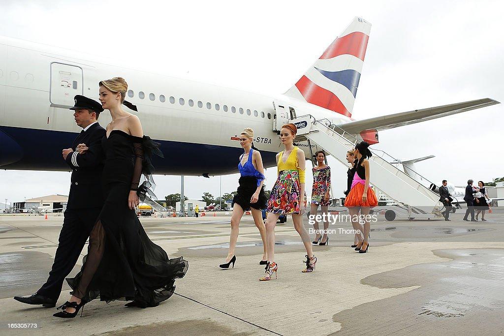 British Airways 777 High Tea Event : News Photo