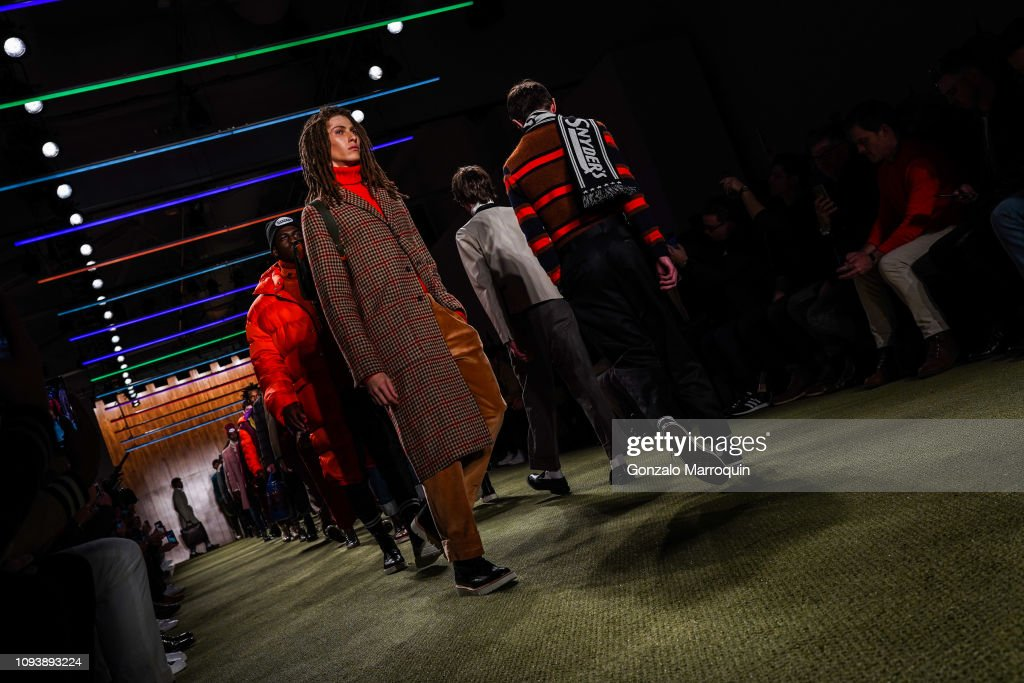 Todd Synder Men's FW19 Runway Show : News Photo