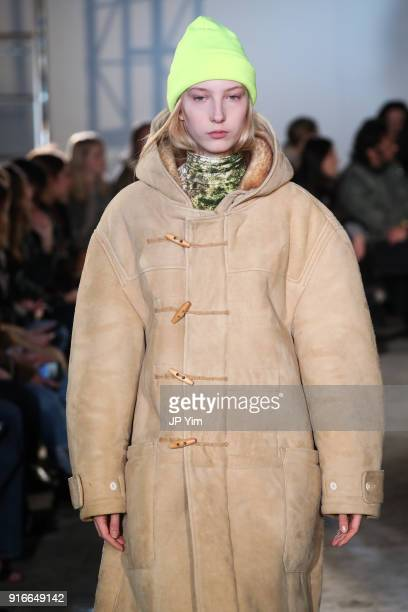 Models walks the runway at the R13 Collection on February 10, 2018 in New York City.