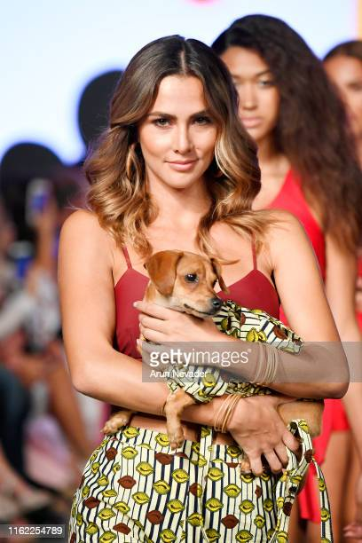 Models walks the runway for Surf Souleil Presented by Tito's Vodka At Miami Swim Week Powered By Art Hearts Fashion Swim/Resort 2019/20 at Faena...