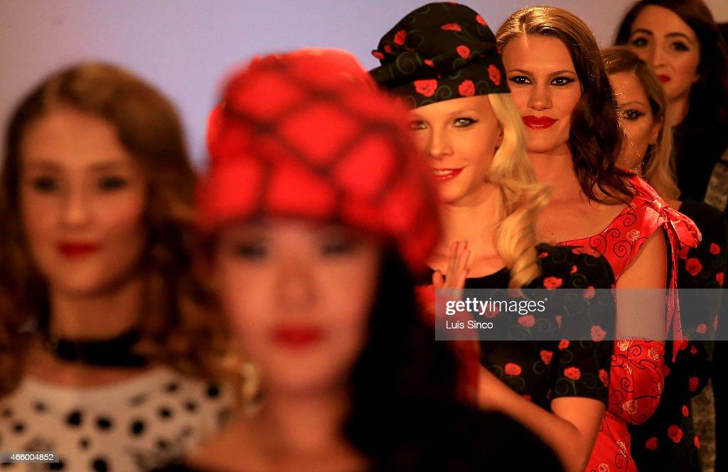 LA Fashion Week - Vilorija - Runway : ニュース写真