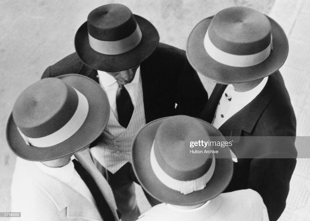 Italian Hats : News Photo