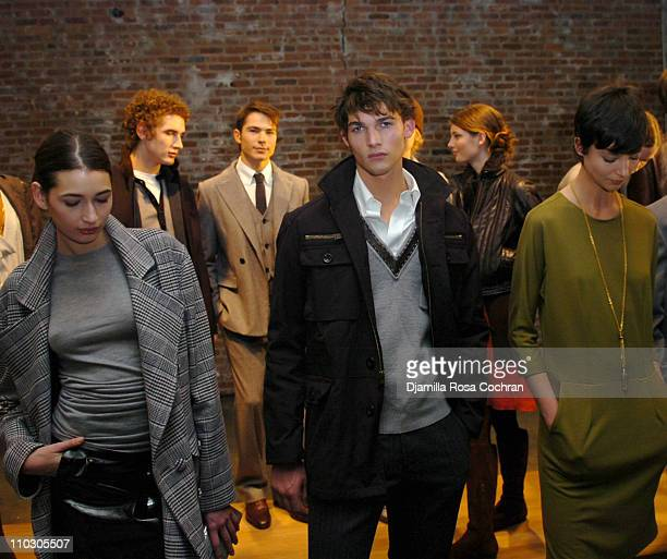 Models wearing Adam Eve during MercedesBenz Fashion Week Fall 2007 Adam Eve Presentation Sponsored by Gran Centenario Tequila at Jane Street Studios...