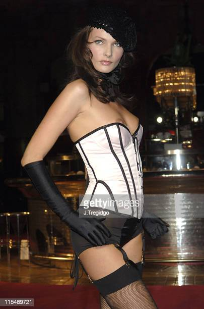Models Wearing Agent Provocateur Lingerie during Agent Provocateur Charity Fashion Show in London October 20 2005 at Royal Exchange in London Great...
