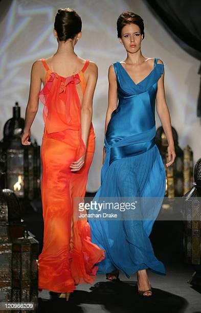 Models wearing Ashley Isham Spring/Summer 2006 during Singapore Fashion Festival 2006 - Ashley Isham Presented by Mercedes-Benz - Runway at The Tent...