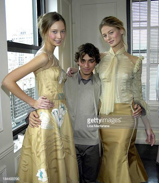 Models wearing Esteban Cortazar Fall 2006 and Esteban Cortazar