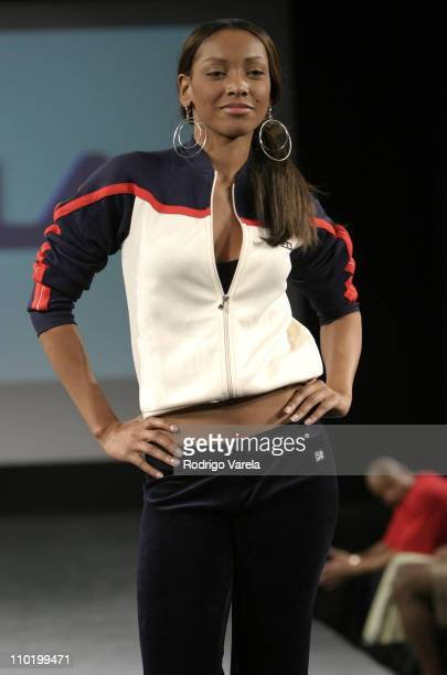 Fashion Week Miami Fila Runway at Ocean Drive and First Street Tents in Miami Beach Florida United States