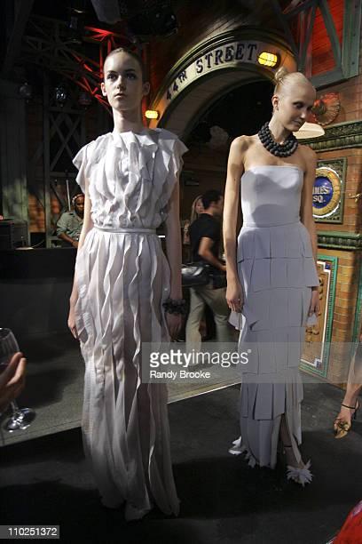 Models wearing Rodarte Spring 2005 during Stylelounge Spring/Summer 2006 New York Fashion Week Day 1 Rodarte at Style Lounge in New York City New...