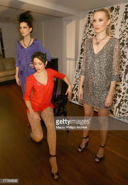Models wearing Rory Beca attend the Nordstrom event at Boulevard 3 on October 18, 2007 in Los Angeles, California.