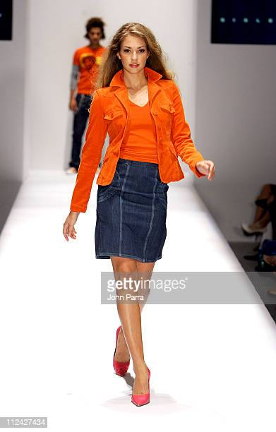 Models wearing Sisley during Funkshion Fashion Week Miami Sisley Spring/Summer 2005 Collection at The Moore Building in Miami Florida United States