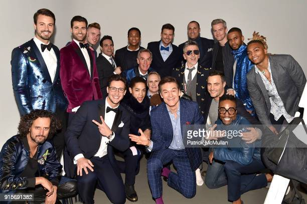 Models who participated in The Blue Jacket Fashion Show Benefiting Prostate Cancer Foundation at Pier 59 on February 7 2018 in New York City