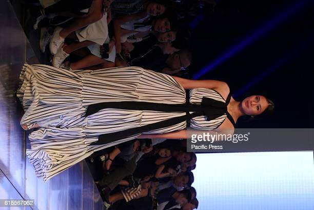 Models with clothes in the collection of Jaz Cerezo during Manila Fashion Festival 2
