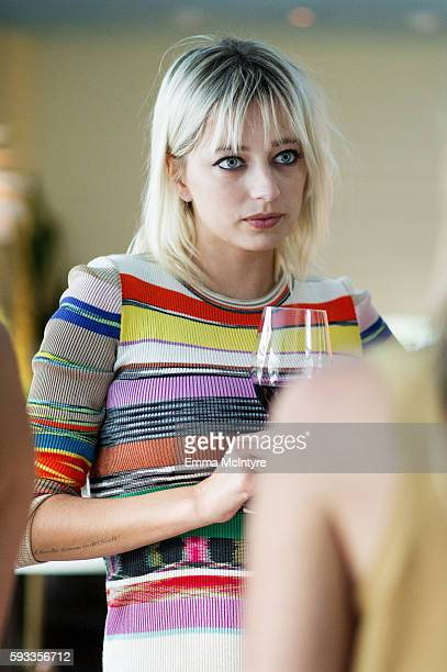 Model/singer Caroline Vreeland attends the Women of Cinefamily weekend closing party at The Standard Hollywood on August 21 2016 in West Hollywood...