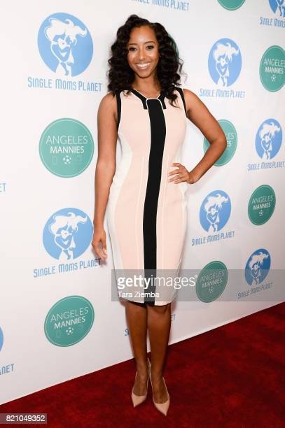 Model/Single Moms Planet founder Neferteri Plessy attends the Single Mom's Awards at The Peninsula Beverly Hills on May 11 2017 in Beverly Hills...