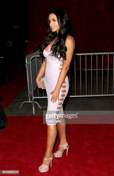 Model/social media personality Abigail Ratchford attends the 2017 MAXIM Hot 100 Party at Hollywood Palladium on June 24 2017 in Los Angeles California