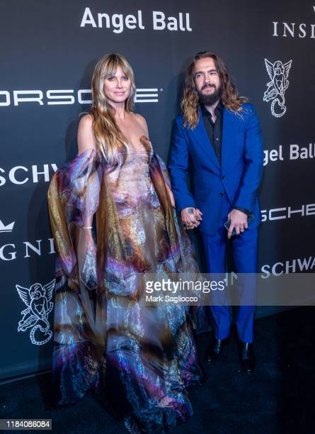 Model/TV Personality and Tom Kaulitz attend the Angel Ball 2019 at Cipriani Wall Street on October 28 2019 in New York City