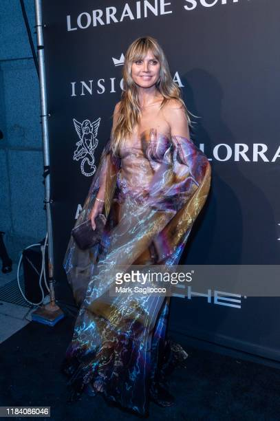 Model/TV Personality attends the Angel Ball 2019 at Cipriani Wall Street on October 28 2019 in New York City