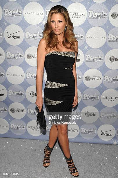 Model/TV personality Daisy Fuentes attends the People en Espanol Los 50 Mas Bellos party at Gustavino's on May 20 2010 in New York City