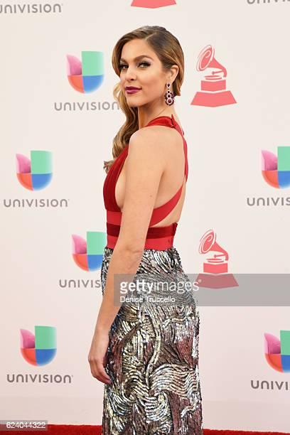 Model/tv personality Daniela di Giacomo attends The 17th Annual Latin Grammy Awards at TMobile Arena on November 17 2016 in Las Vegas Nevada