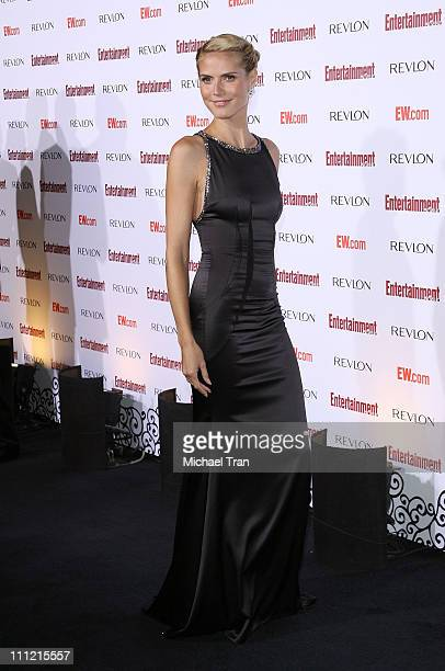 Model/tv personality Heidi Klum arrives at the Entertainment Weekly's 5th Annual Pre-Emmy Party at Opera and Crimson on September 15, 2007 in...