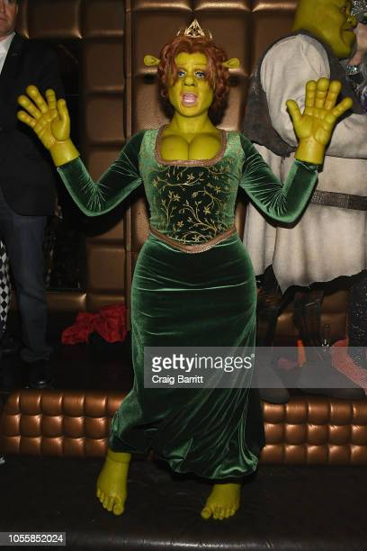 Model/TV Personality Heidi Klum attends Heidi Klum's 19th Annual Halloween Party Sponsored by SVEDKA Vodka and Party City at Lavo NYC on October 31...